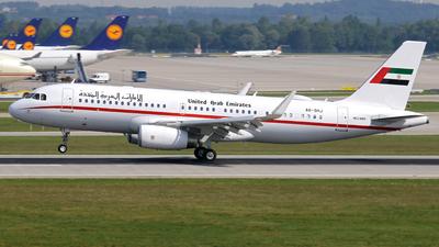 A6-SHJ - Airbus A320-232(CJ) Prestige - United Arab Emirates - Amiri Flight