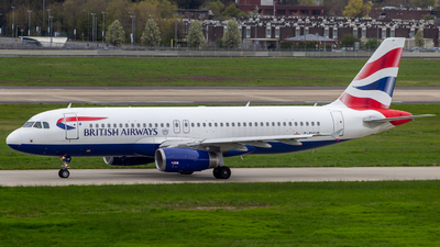G-EUUP - Airbus A320-232 - British Airways