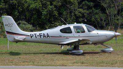 PT-FAA - Cirrus SR22-GTS - Private