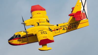 UD.13-28 - Canadair CL-215T - Spain - Air Force