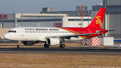 A picture of B6550 - Airbus A320214 - Shenzhen Airlines - © Northrop_L