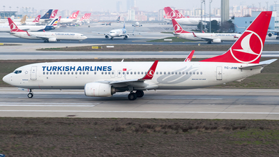 TC-JHM - Boeing 737-8F2 - Turkish Airlines