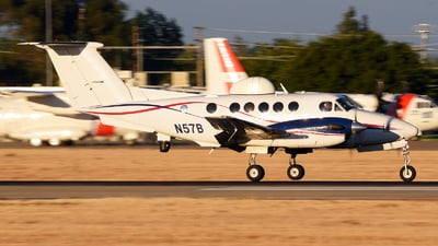 A picture of N57B - Beech C12 Huron -  - ©  JC