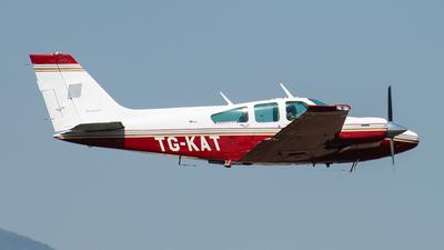 A picture of TGKAT - Beechcraft Baron 55 - [TC1077] - © Francois Joseph