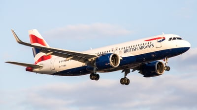 G-TTNA - Airbus A320-251N - British Airways