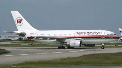 5Y-BFT - Airbus A310-304 - Kenya Airways