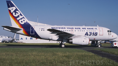F-WWIB - Airbus A318-121 - Airbus Industrie