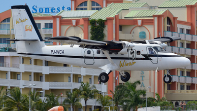 PJ-WCA - De Havilland Canada DHC-6-300 Twin Otter - Winair - Windward Islands Airways