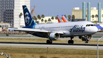 A picture of N846VA - Airbus A320214 - Alaska Airlines - © Diego Mancilla.