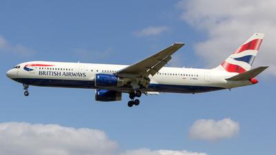 G-BNWV - Boeing 767-336(ER) - British Airways