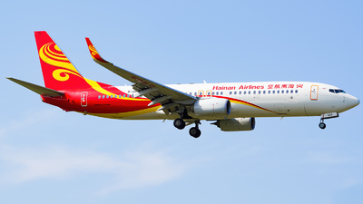 A picture of B1215 - Boeing 73784P - Hainan Airlines - © Underexposed_DF767