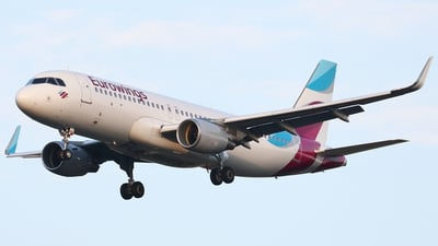 D-AEWD - Airbus A320-214 - Eurowings