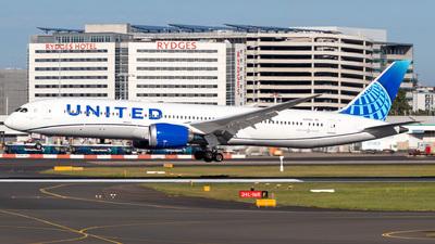 N25982 - Boeing 787-9 Dreamliner - United Airlines