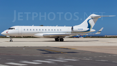 VQ-BZB - Bombardier BD-700-1A10 Global 6000 - Private