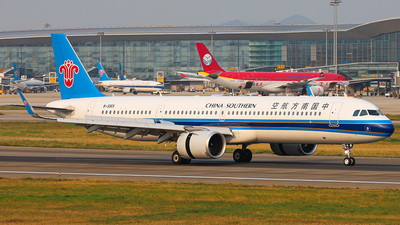 A picture of B30E5 - Airbus A321253NX - China Southern Airlines - © Patrick-ZHOU