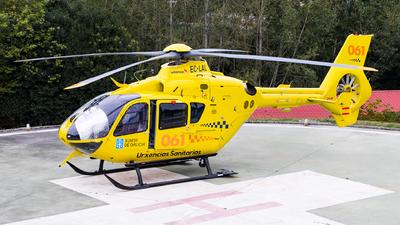 A picture of ECLAL - Deutchland Eurocopter EC135P2+ - [0761] - © Carlos Miguel Seabra