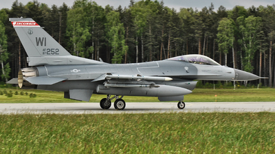 87-0252 - General Dynamics F-16C Fighting Falcon - United States - US Air Force (USAF)