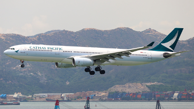 B-HLN - Airbus A330-343 - Cathay Pacific Airways