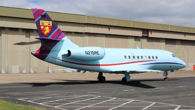 N215RE - Dassault Falcon 2000 - Private