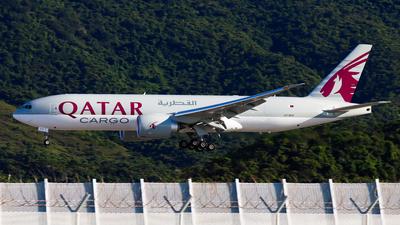A picture of A7BFZ - Boeing 777F - Qatar Airways - © Chow Kin Hei - AHKGAP