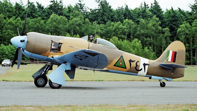 G-BTTA - Hawker Fury FB10 - Private
