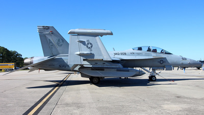 166896 - Boeing EA-18G Growler  - United States - US Navy (USN)