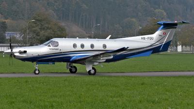 A picture of HBFQU - Pilatus PC12/47E -  - © Mirko Bleuer