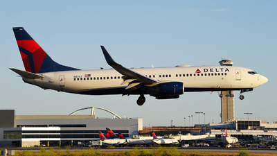 A picture of N3767 - Boeing 737832 - Delta Air Lines - © Rocky Wang