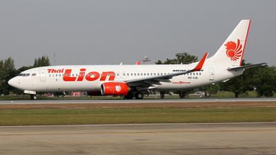 HS-LUL - Boeing 737-8GP - Thai Lion Air
