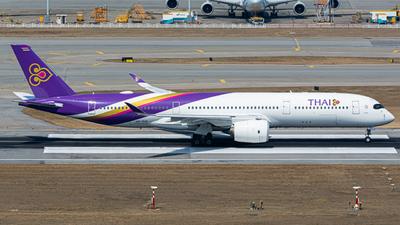 A picture of HSTHC - Airbus A350941 - Thai Airways - © King Hin Lau