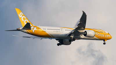 A picture of 9VOJC - Boeing 7879 Dreamliner - Scoot - © Andrew Hunt