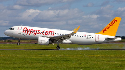 A picture of TCNBO - Airbus A320251N - Pegasus Airlines - © Chr Pe