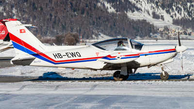 A picture of HBEWQ - SiaiMarchetti F.260C - [636/46002] - © Thierry Weber