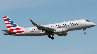 N247NN - Embraer 170-200LR - American Eagle (Envoy Air)