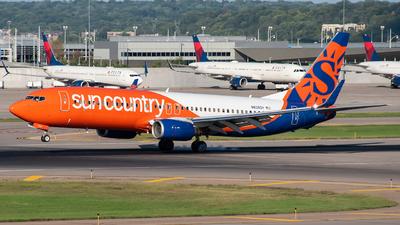 N838SY - Boeing 737-86N - Sun Country Airlines