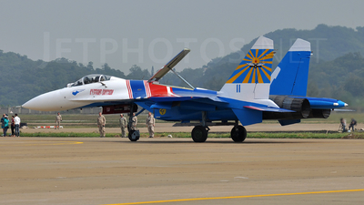 11 - Sukhoi Su-27P Flanker - Russia - Air Force