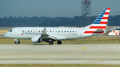 A picture of N246NN - Embraer E175LR - American Airlines - © RZ