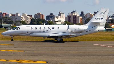 A picture of PRSMK - Cessna 680 Citation Sovereign - [6800252] - © Lucas Gabardo