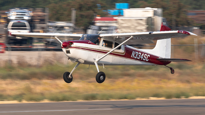 N334SC - Cessna 180C Skywagon - Private