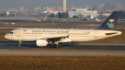 HZ-AS13 - Airbus A320-214 - Saudi Arabian Airlines