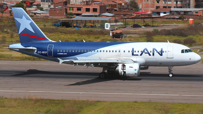 CC-BCF - Airbus A319-112 - LAN Airlines