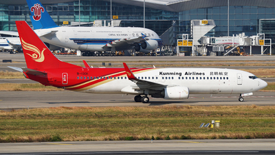 A picture of B1331 - Boeing 7378LY - Kunming Airlines - © ziyouzizai001