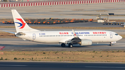 A picture of B208D - Boeing 73789P - China Eastern Airlines - © Yan Shuai