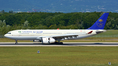 TC-OCM - Airbus A330-243 - Saudi Arabian Airlines (Onur Air)
