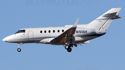 N723LK - British Aerospace BAe 125-800A - Private
