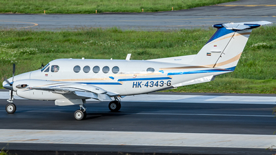 HK-4343-G - Beechcraft 200 Super King Air - Private