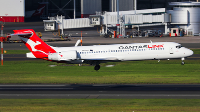 A picture of VHNXJ - Boeing 7172BL - Qantas - © Mark H