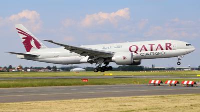 A picture of A7BFD - Boeing 777FDZ - Qatar Airways - © Roman Eisenreich