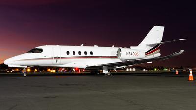 A picture of N540QS - Cessna 680A Citation Latitude - NetJets - © Taylor Kim