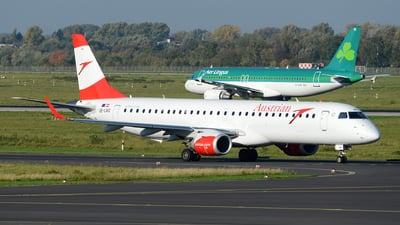 OE-LWC - Embraer 190-200LR - Austrian Airlines